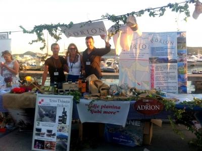 """LAG """"Adrion"""" sudjelovao na LAG Summer Festivalu u Biogradu na Moru i predstavio svoje područje"""